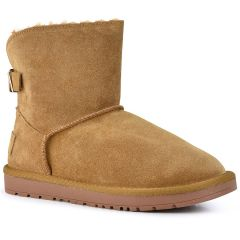 Tabac leather Australian Boot MTNG 57454