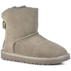 Taupe leather Australian Boot MTNG 57454