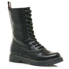 Black biker boot MTNG 58628