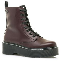 Bordeaux biker boot MTNG 58695