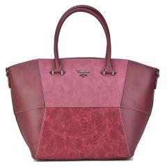 Bordeaux shoulder bag David Jones 5851-2