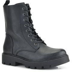 Black biker boot 6060