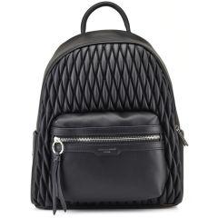 Black backpack David Jones 6266-2