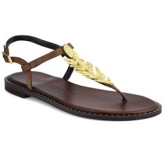 Leather brown sandals Fratelli Robinson 621509
