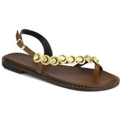 Leather brown sandals Fratelli Robinson 621610