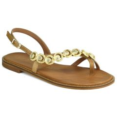 Leather tabac sandals Fratelli Robinson 621610