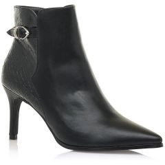 Black ankle boot MariaMare 62486