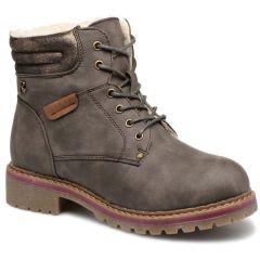 Brown hiking bootie Refresh 64671