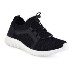 Black junior sneakers 66-76