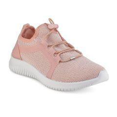 Pink junior sneakers 66-76