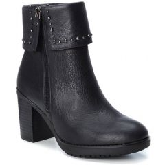 Leather black biker boot Carmela 66987
