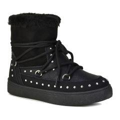 Μαύρο παιδικό Moon Boot 66-42