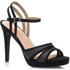 Black high heel sandal MariaMare 67709