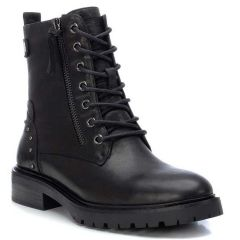 Leather black biker boot Carmela 67412