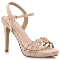 Nude high heel sandal MariaMare 67712