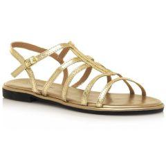 Gold sandal MariaMare 67699