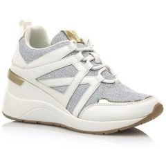 Ασημί sneaker MariaMare 67814