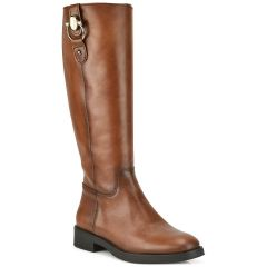 Leather tabac boot D Chicas 6838