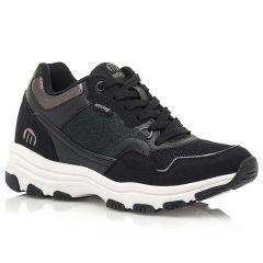 Μαύρο sneaker MTNG 69905