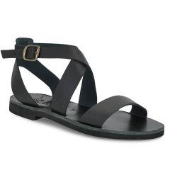 Black leather sandal Iris Sandals IR7/20