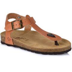 Leather tabac anatomic sandal BIO BIO 71129