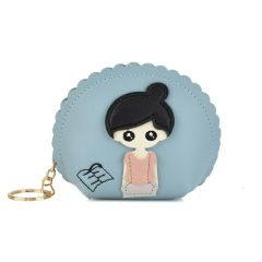 Blue small wallet Girl X712