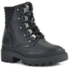 Black biker boot Refresh 72537