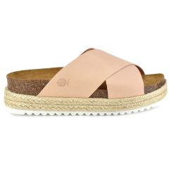 Leather nude anatomic sandal BIO BIO 73674