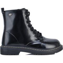 Black biker boot 7301