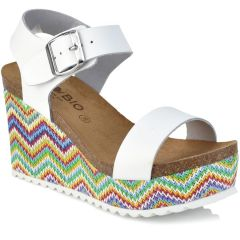 Leather white anatomic wedge BIO BIO 76629