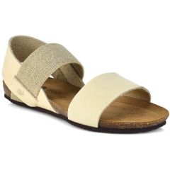 Leather beige anatomic sandal BIO BIO 75451