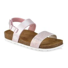 Leather kids pink anatomic sandal BIO BIO 76832