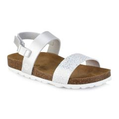 Leather kids white anatomic sandal BIO BIO 76832