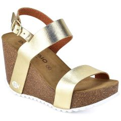 Leather gold anatomic wedge BIO BIO 76884