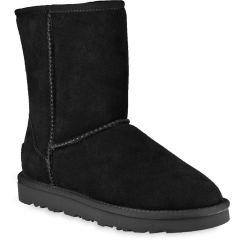 Black leather Australian Boot L7830
