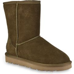 Khaki leather Australian Boot L7830