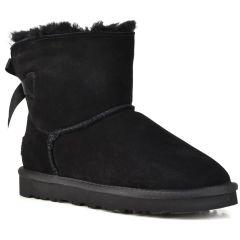 Black leather Australian Boot L7851