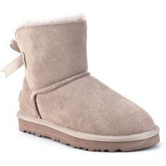 Nude leather Australian Boot L7851