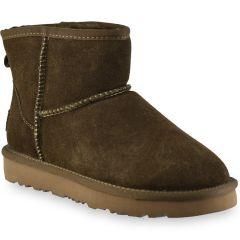 Khaki leather Australian Boot L7854