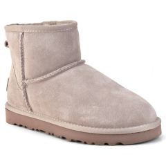 Nude leather Australian Boot L7854