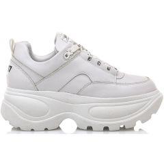 Δερμάτινο λευκό sneaker SIXTYSEVEN 79937