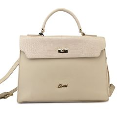 Beige backpack 6266-2