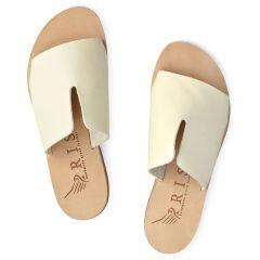 Ecru leather sandal Iris Sandals IR9/26