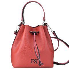 Κοκκίνη τσάντα πουγκί Pierro Accessories 90400