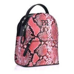 Pink snake backpack Pierro Accessories 90551