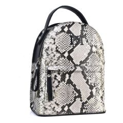 White snake backpack Pierro Accessories 90551