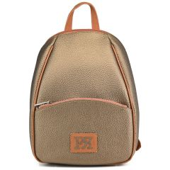 Bronze backpack Pierro Accessories 90605