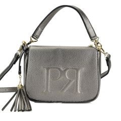 Pewter cross body bag Pierro Accessories 90609