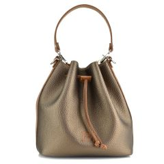 Bronze pouch bag Pierro Accessories 90400