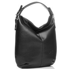 Μαύρη τσάντα ώμου Pierro Accessories 90405